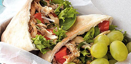 Healthy lunch recipes cooking light little italy chicken pitas recipes smart choices healthy lunch ideas sisterspd