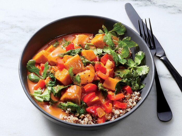 Thai chicken and vegetable curry recipe cooking light thai chicken and vegetable curry forumfinder Choice Image