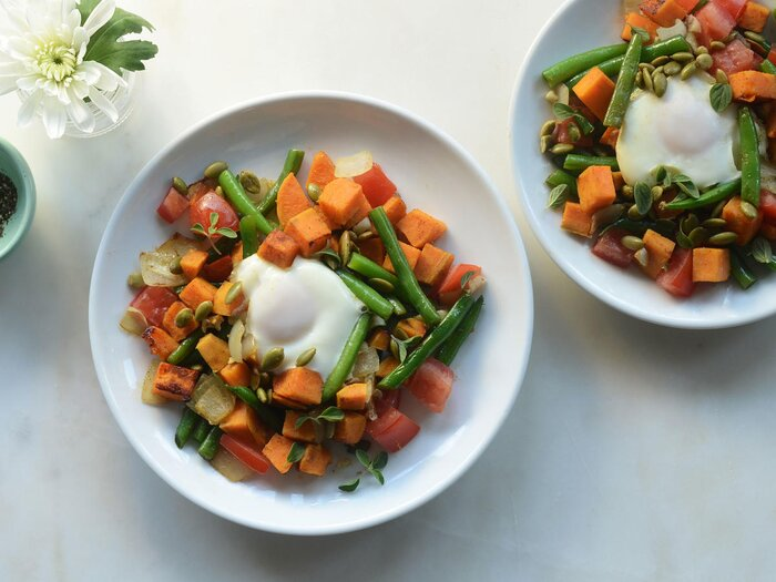 Spicy paleo veggie hash recipe cooking light spicy paleo hash forumfinder Choice Image