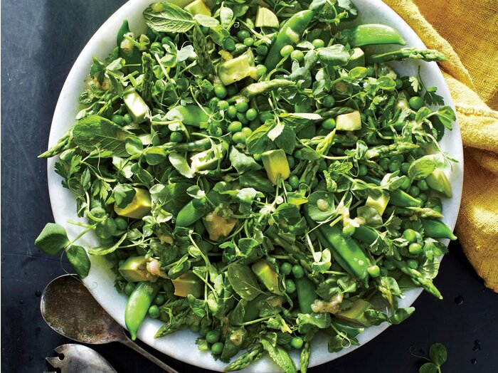 All the green things salad recipe cooking light all the green things salad forumfinder Images