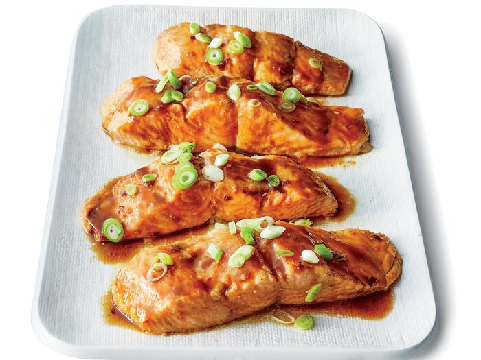 Easy sesame hoisin salmon recipe cooking light easy sesame hoisin salmon forumfinder Choice Image