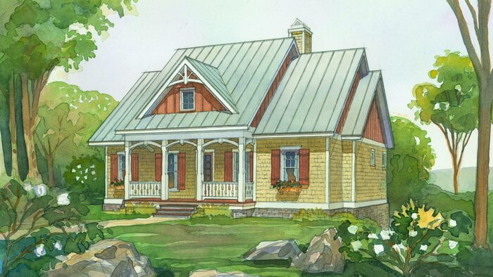 boulder summit plan 1575 - Southern Style Houses