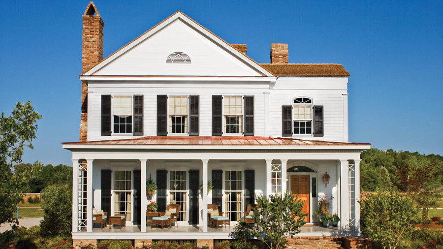 Farmhouse Plans Southern Living 17 house plans with porches - southern living