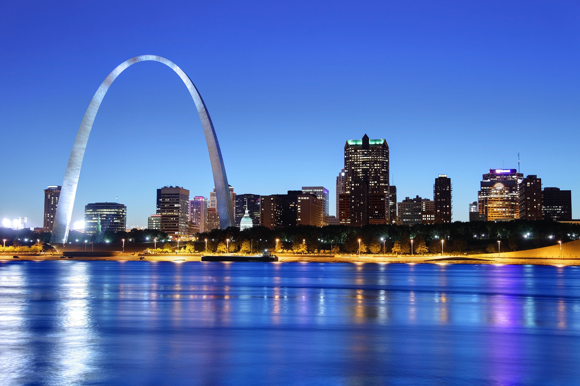 2. St. Louis, Missouri