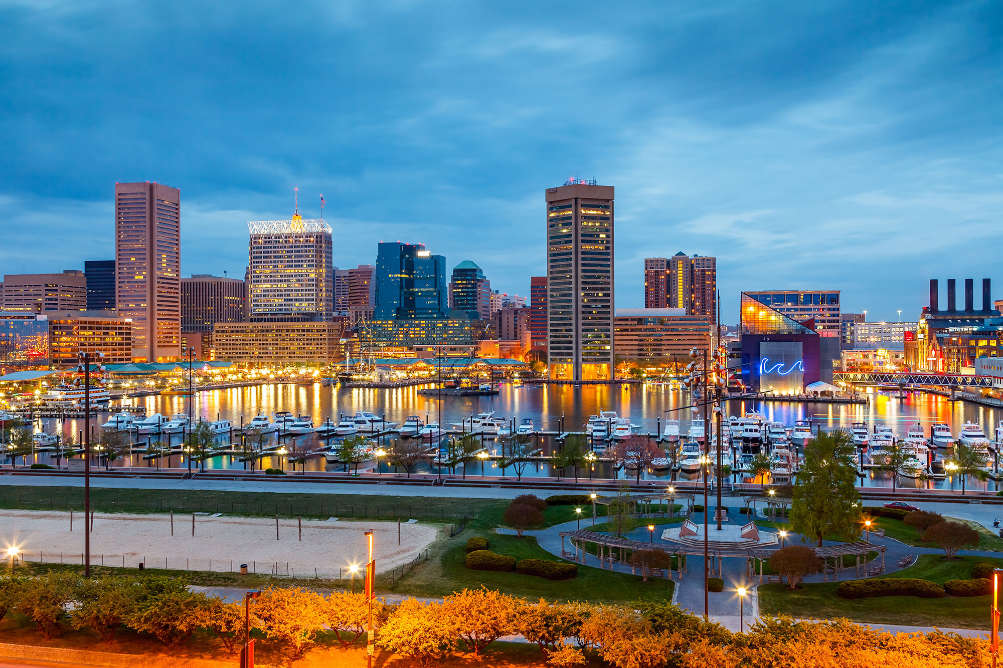 10. Baltimore, Maryland