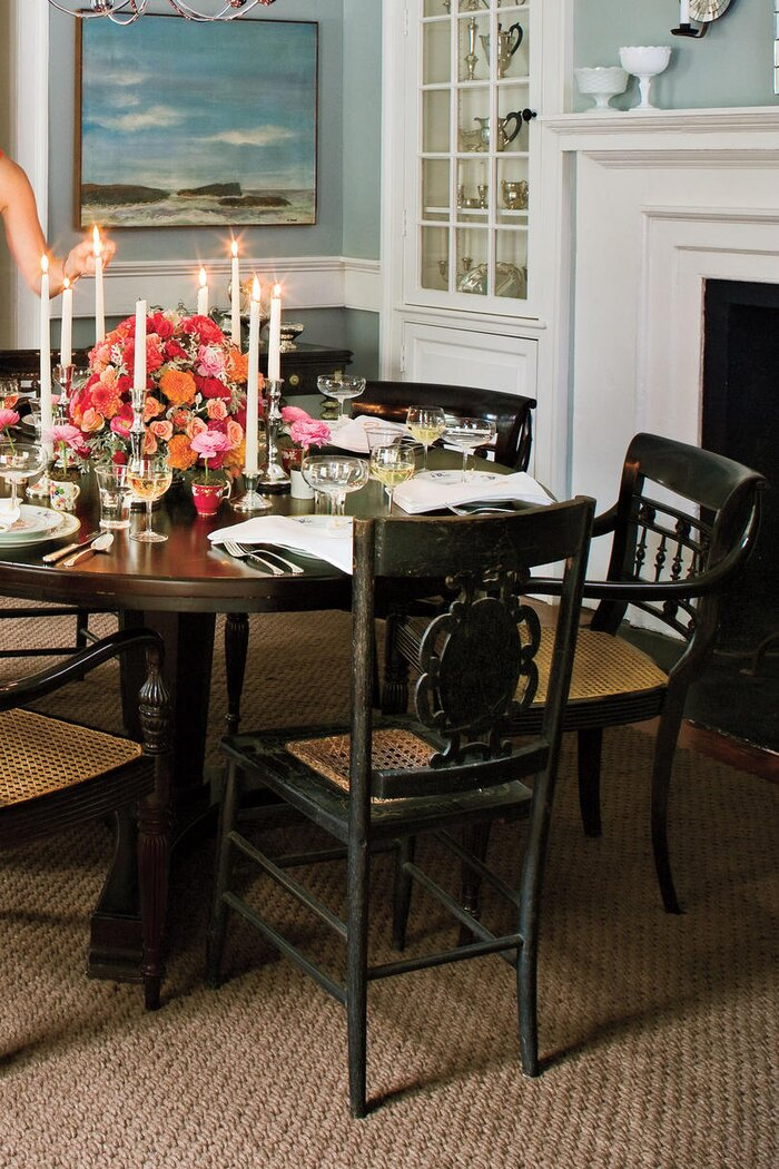 a well set table