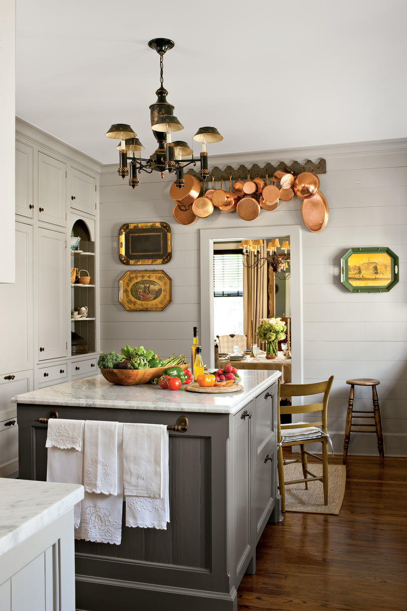 stylish vintage kitchen ideas - southern living