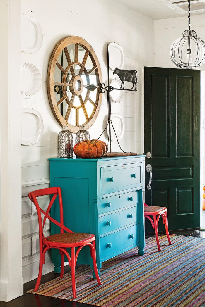 red dining room table 10 ways to decorate with red southern living