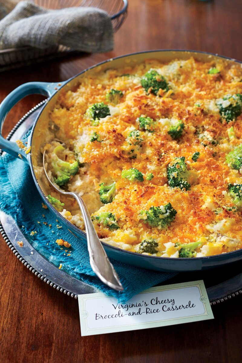 50 Best Thanksgiving Cheesy Broccoli and Rice Casserole