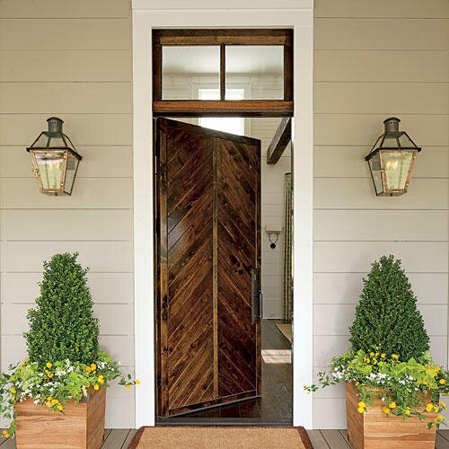 southern front doors10 Ways With Reclaimed Wood  Southern Living