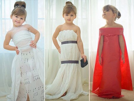 meet the 4 year old who crafts celeb worthy gowns out of paper