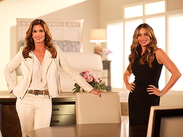 Sofia Vergara Cindy Crawford Behind The Scenes Rooms To Go