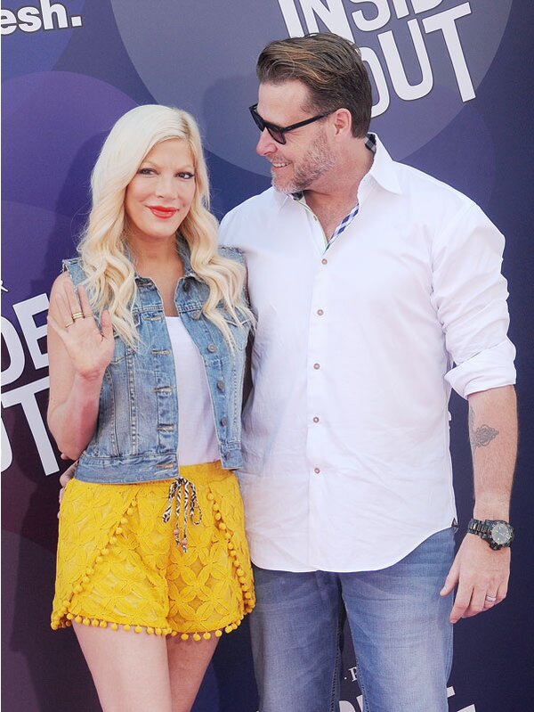 Tori Spelling Talks Public Backlash From Dyeing Daughter Stellas