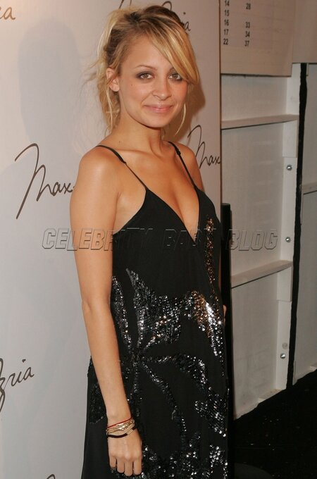 Nicole Richie At Max Azria Fashion Show People