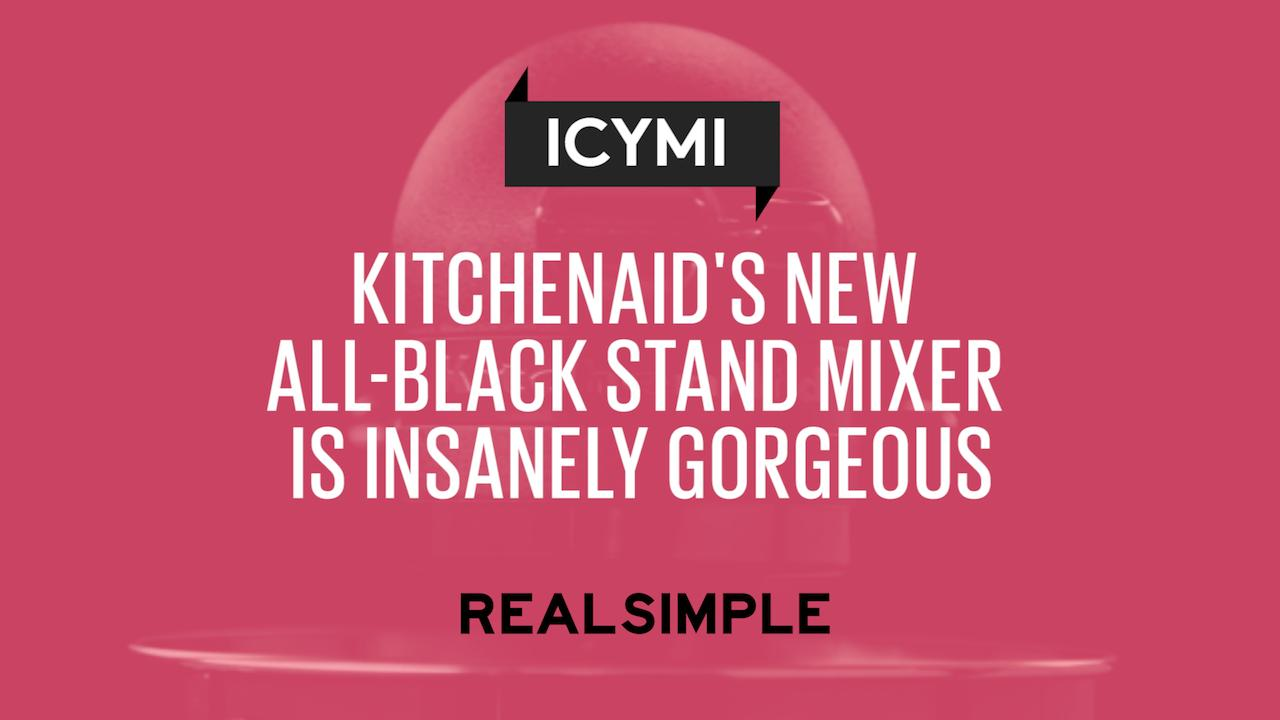 All Kitchenaid Colors kitchenaid's new all-black stand mixer is insanely gorgeous | real