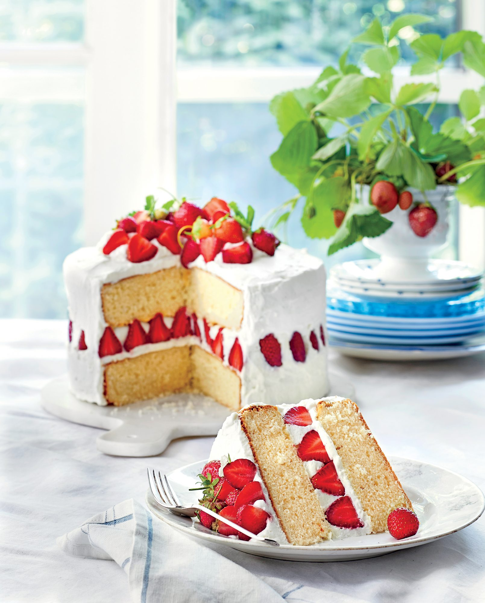 Strawberry Dream Cake Recipe Myrecipes Autos Post