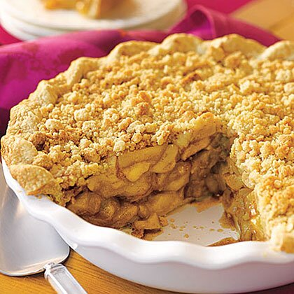 recipe: crustless apple pie with crumb topping [6]