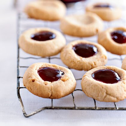 recipe: peanut butter thumbprint cookies [15]