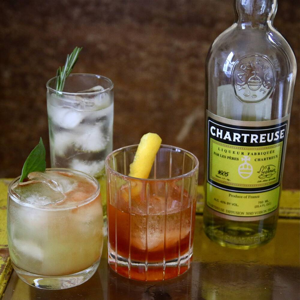 3 cocktails to make with yellow chartreuse food wine