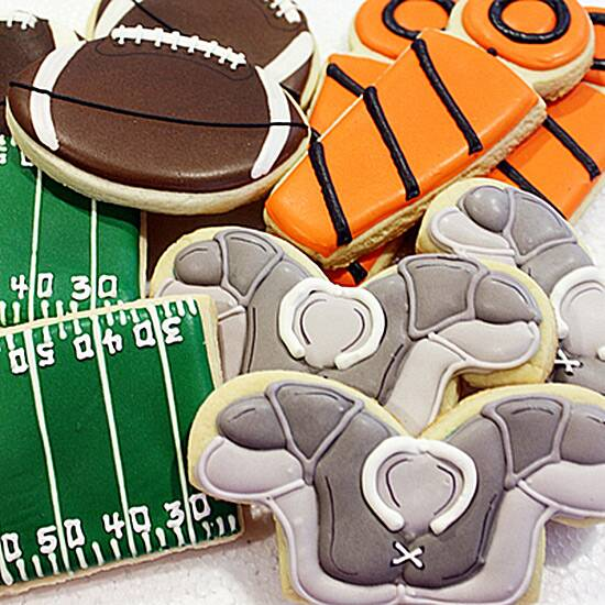touchdown sweet snacks for your super bowl party food wine
