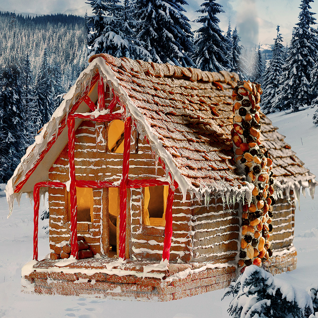 Rent These 3 Incredible Gingerbread Houses For A Good Cause Food