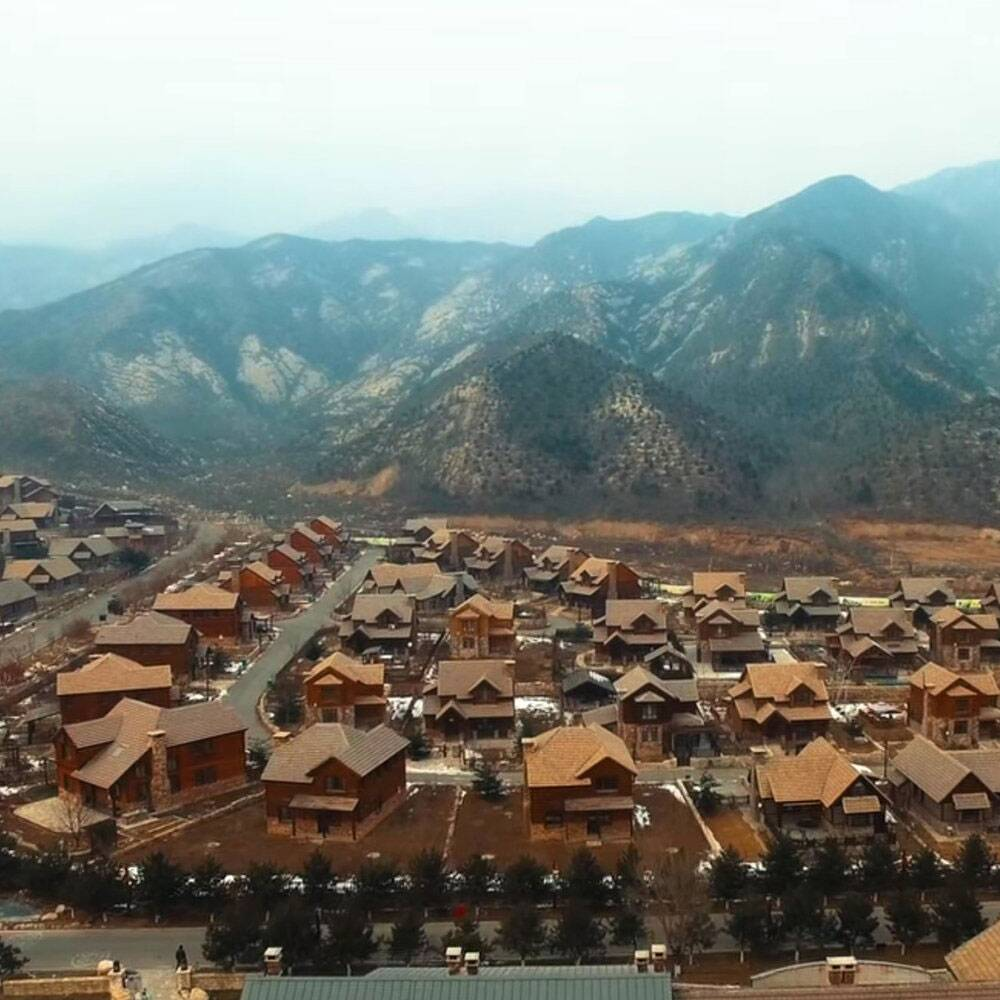 there s a city in china that was built to replicate jackson hole