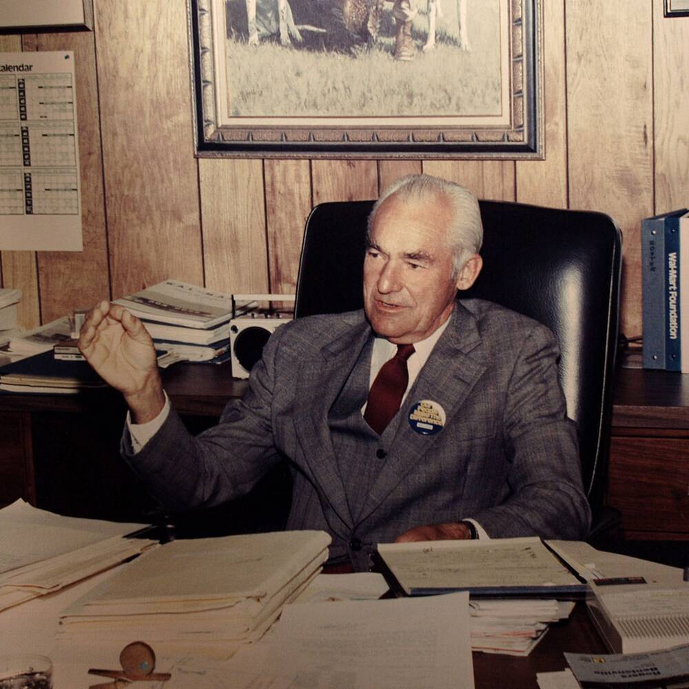 A Low Cost Empire How Sam Walton Made His Billions