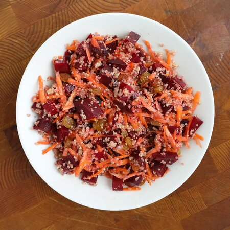 Beet And Quinoa Salad Recipe Julie Pointer Adams Food Wine