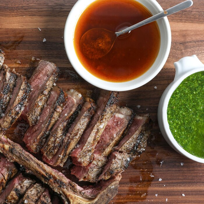 Steak with arabic sauces recipe jos andrs food wine steak with arabic sauces forumfinder Gallery