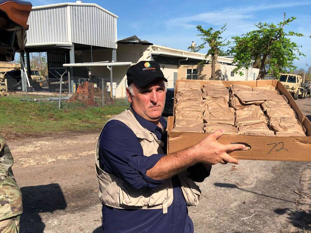 jose andres in puerto rico courtesy of world central kitchen - World Central Kitchen