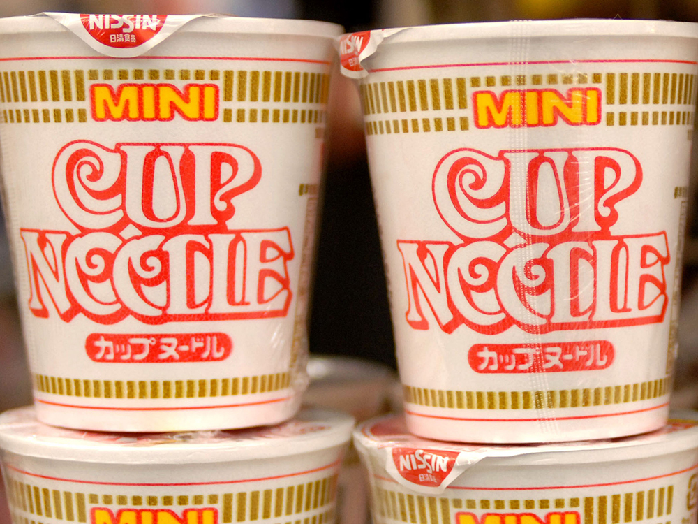 Nissin cup noodle anime ads