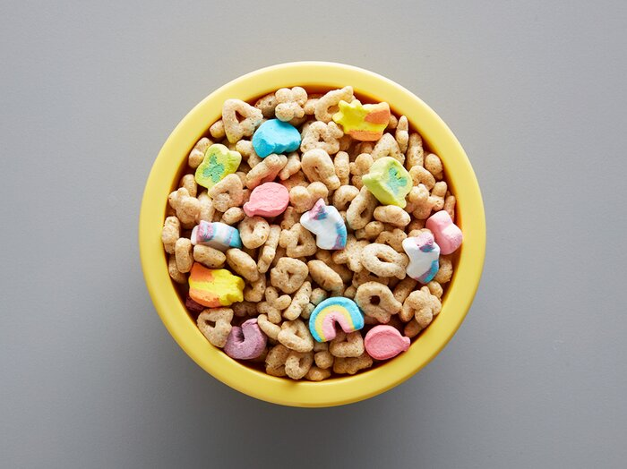 Lucky charms upgrades to magical unicorn marshmallows food wine bowl of lucky charms magical unicorn charms ccuart Images