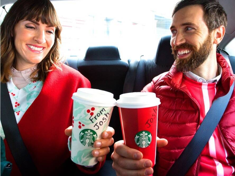 take an uber get a bogo starbucks coupon all this week food wine