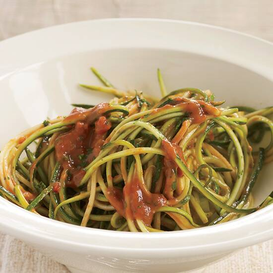 7 best zoodle recipes food wine hd 200806 r zucchini marinarag forumfinder Gallery