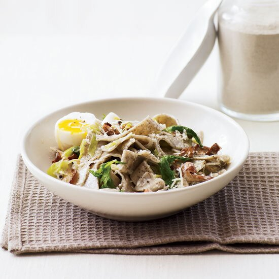 Fast weekday meals food wine creamy buckwheat pasta with wild mushrooms forumfinder