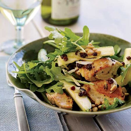 17 Salads With Chicken For Simple Dinners Food Wine