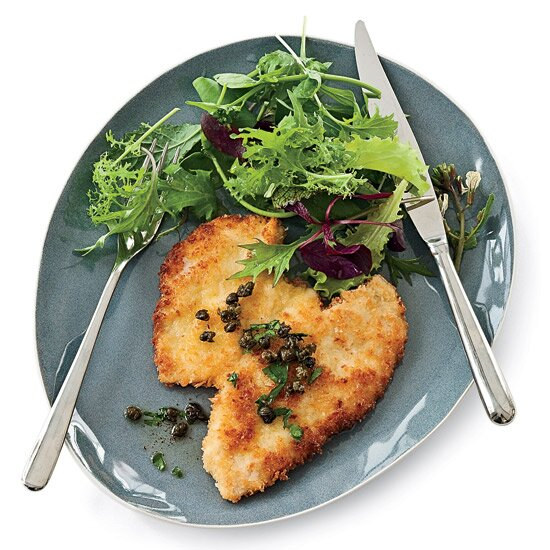 Chicken chef recipes made easy food wine panko coated chicken schnitzel forumfinder Image collections