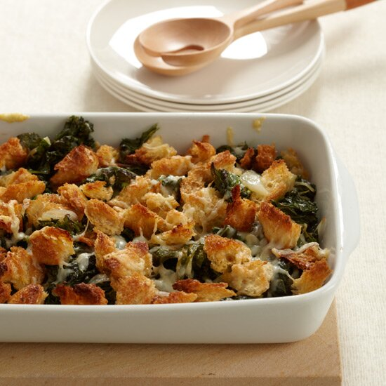 Thanksgiving kale recipes food wine crispy baked kale with gruyre cheese forumfinder Image collections