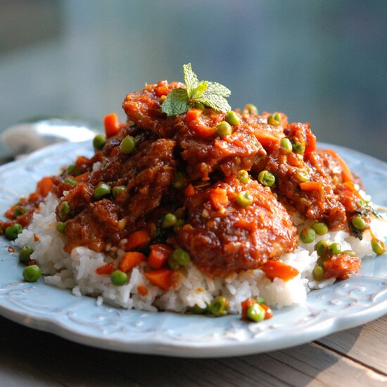 Recipes from around the world food wine sweet and sour bangkok style chicken with chiles forumfinder Gallery