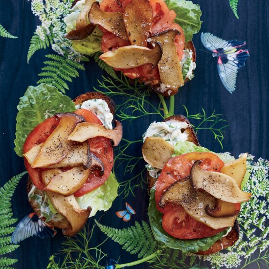 Vegetarian sandwiches food wine king oyster mushroom quotbltquot forumfinder Image collections
