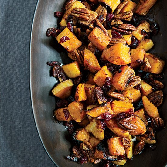 Chef thanksgiving recipes made easy food wine roasted butternut squash with spiced pecans forumfinder Image collections