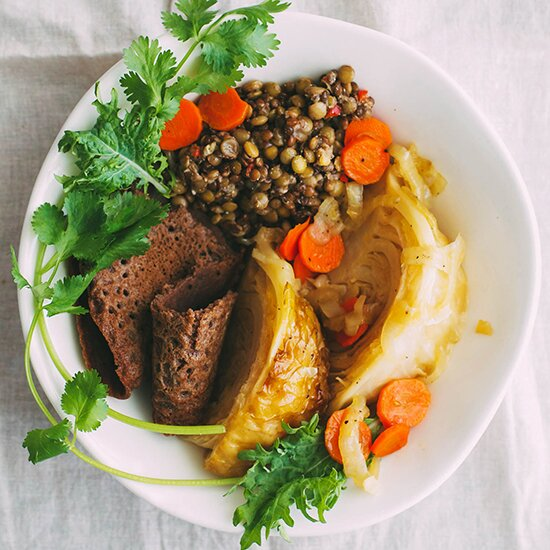 Ethiopian recipes food wine ethiopian meal forumfinder Image collections