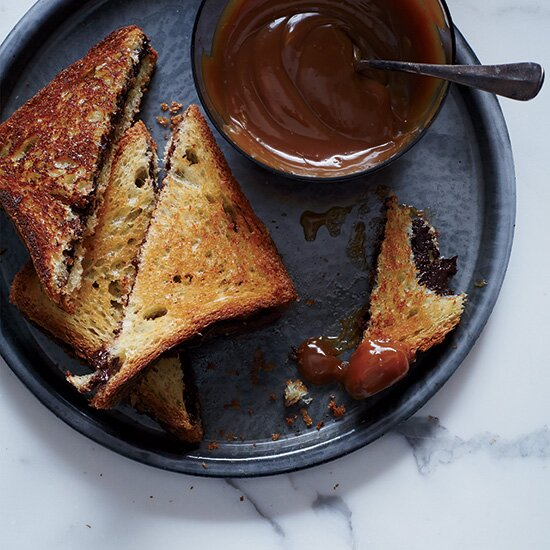 Fws 10 best desserts of 2015 food wine hd 201501 r grilled chocolate sandwiches with caramel forumfinder Gallery