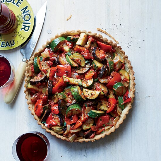 7 red wine friendly vegetarian dishes food wine hd 201504 r ratatouille tartg forumfinder Image collections