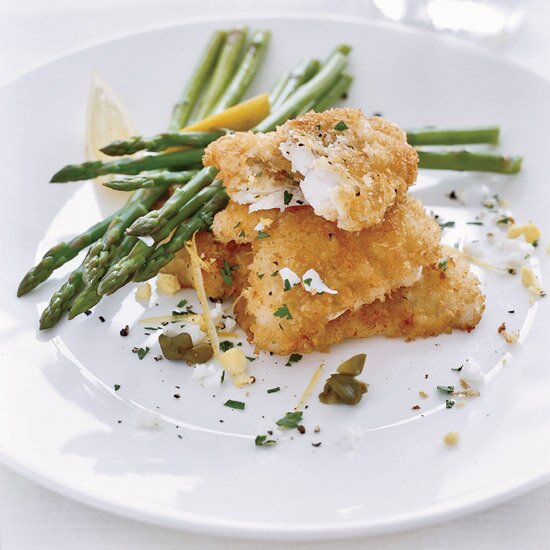 New york city chef recipes made easy food wine crispy monkfish with capers forumfinder Image collections