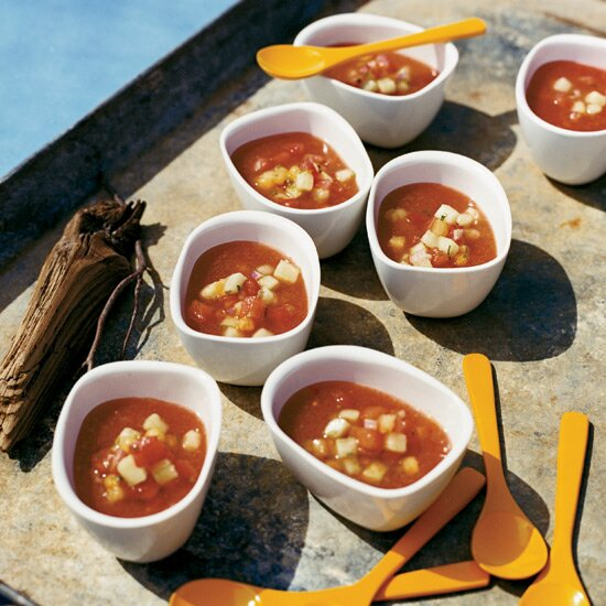 Beach picnic recipes food wine watermelon gazpacho forumfinder Image collections
