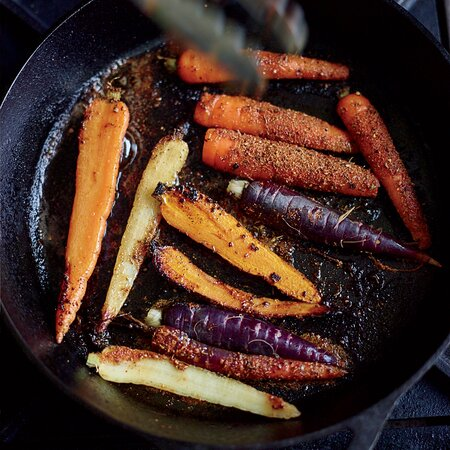 Blackened Carrots Recipe Alexandra Guarnaschelli Food Wine
