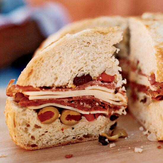 Great recipes from top new orleans chefs food wine emerils muffuletta forumfinder Images