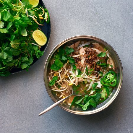 How To Make Chicken Pho Food Wine