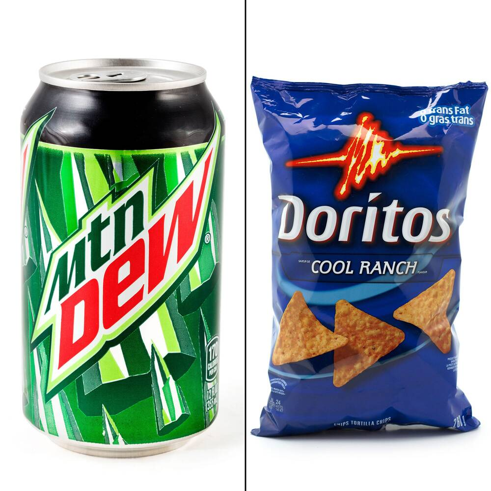 doritos flavored mountain dew is definitely a real thing food wine